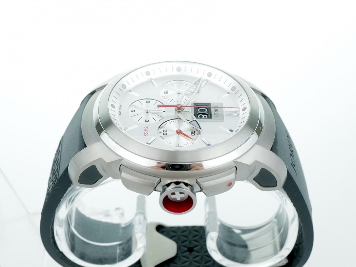 Швейцарские часы Michel Jordi Gletsch Big Date Chronograph Automatic White