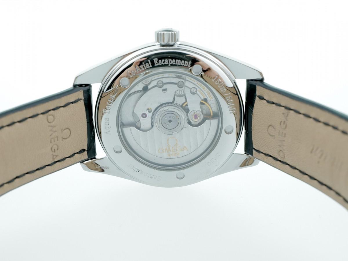 Швейцарские часы Omega Railmaster Seamaster Aqua Terra