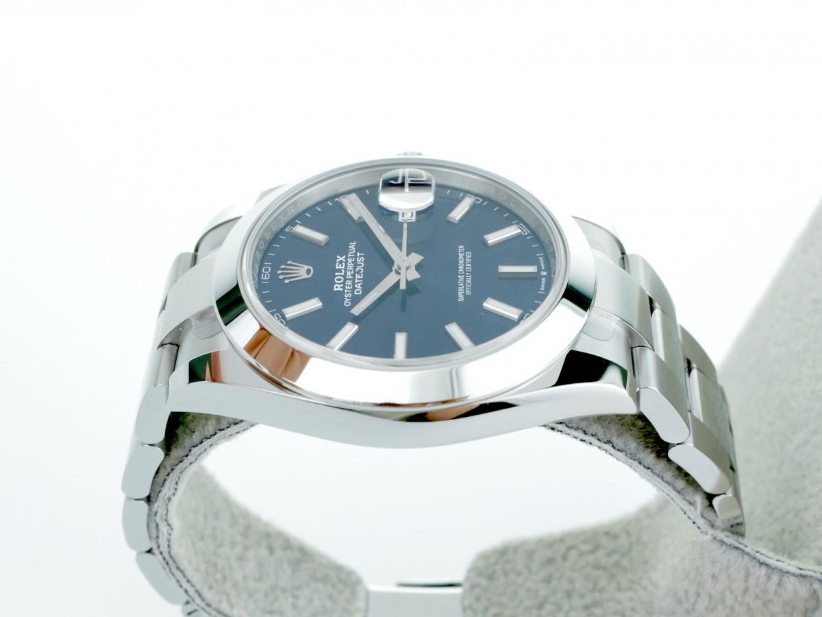 Швейцарские часы Rolex Datejust 41 126300 Blue New