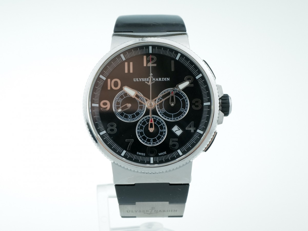 Швейцарские часы Ulysse Nardin Marine Chronograph Manufacture 1503-150-3/62