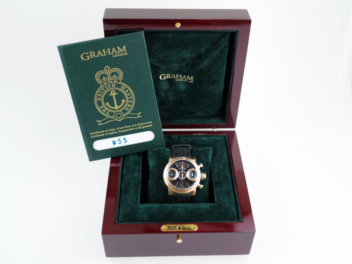 Швейцарские часы Graham Swordfish 18K Rose Gold