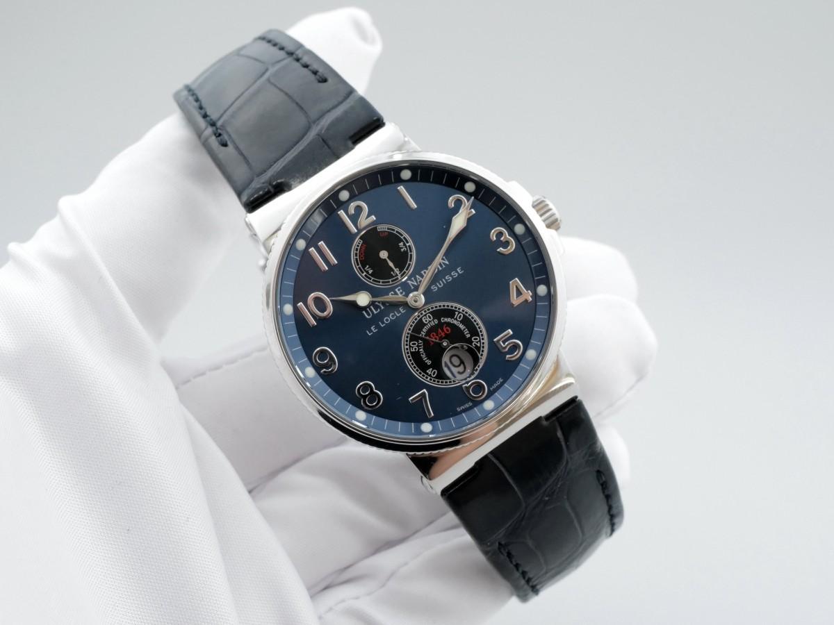 Швейцарские часы Ulysse Nardin Maxi Marine Chronometer 263-66/623